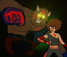 Myriarock twenteeth fight : Yuka VS Lionman