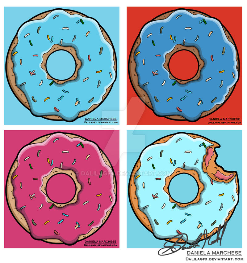Multiple donuts by DalilaGFX