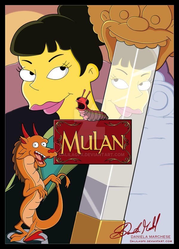 Mulan by DalilaGFX