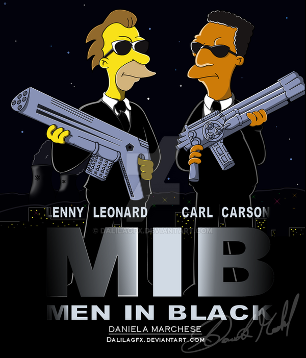 Men In Black by DalilaGFX