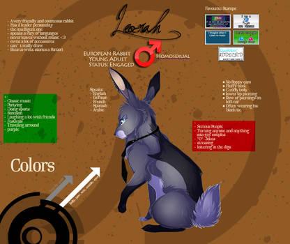 Leo-rah Reference-Sheet 2013 by Leo-rah