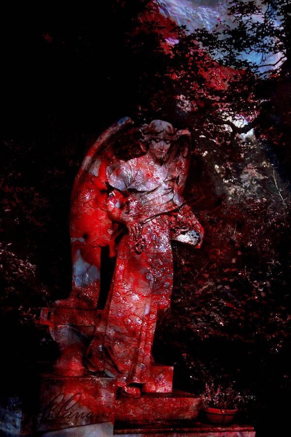 Angel of Death by woodfaery