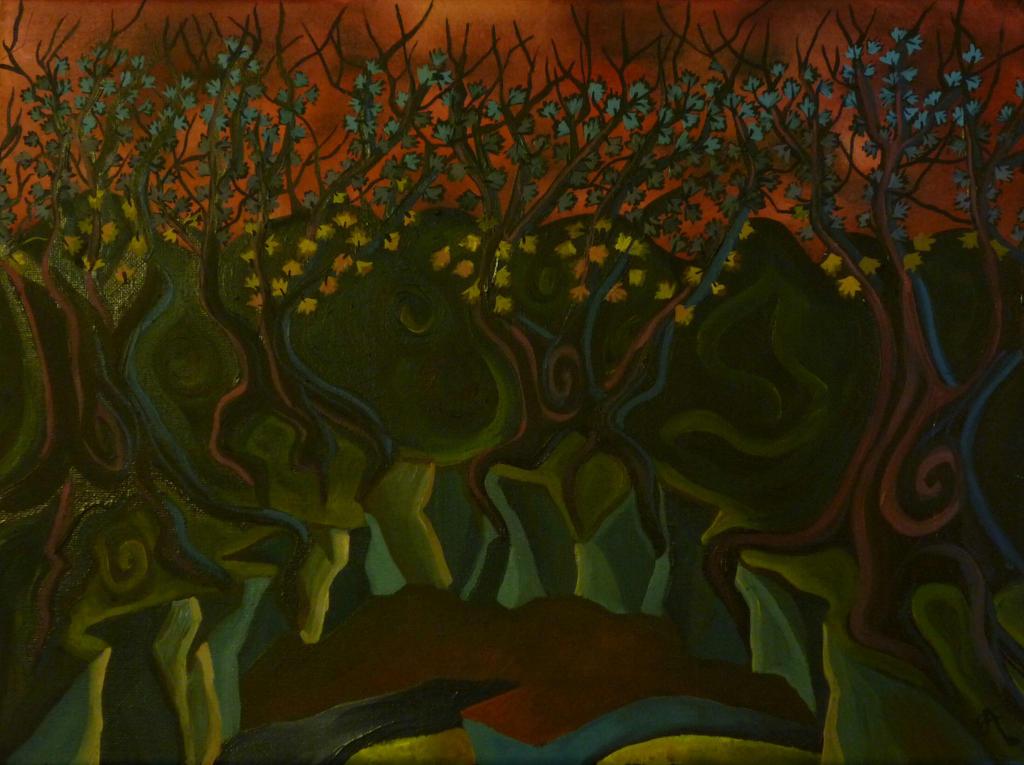 Maximo's trees by Babonga