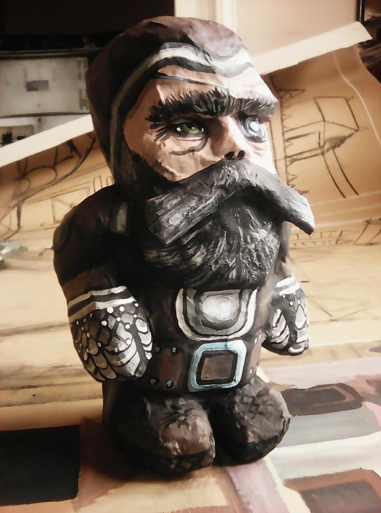 Medieval dwarf (Borador from BGDA)view 1 by Babonga