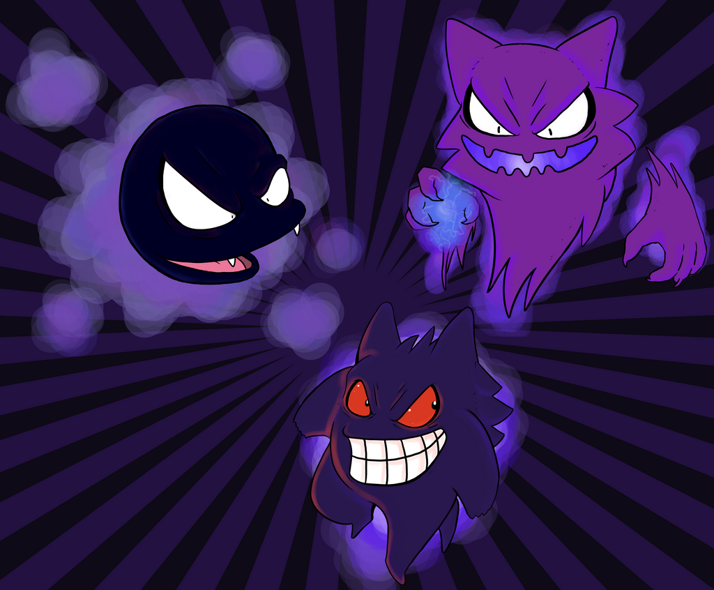 Ghost pokemon wallpaper by pandasexbox on deviantart - Pokemon ghost wallpaper ...