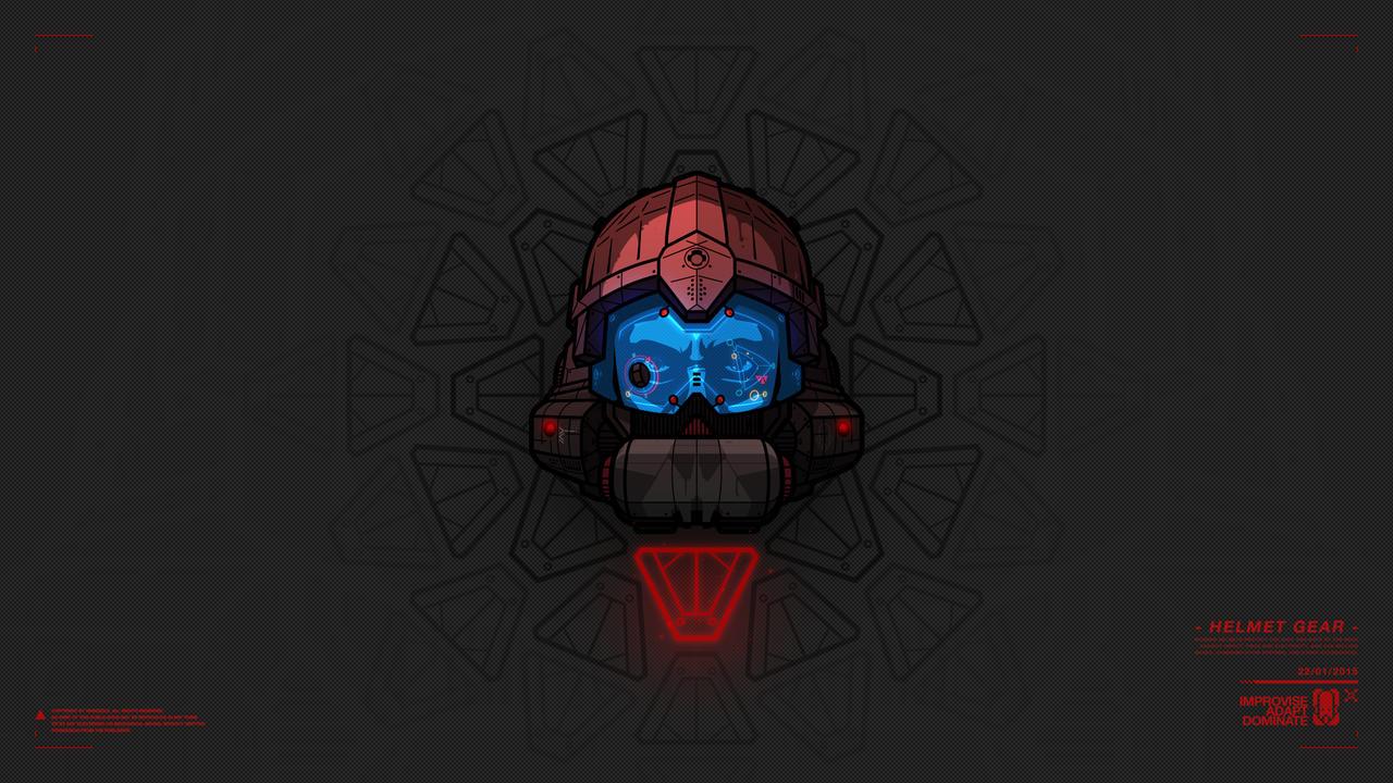 - Helmet Gear - by Norzeele