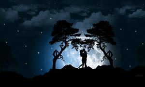 Moonlight kisses by CasanovArt