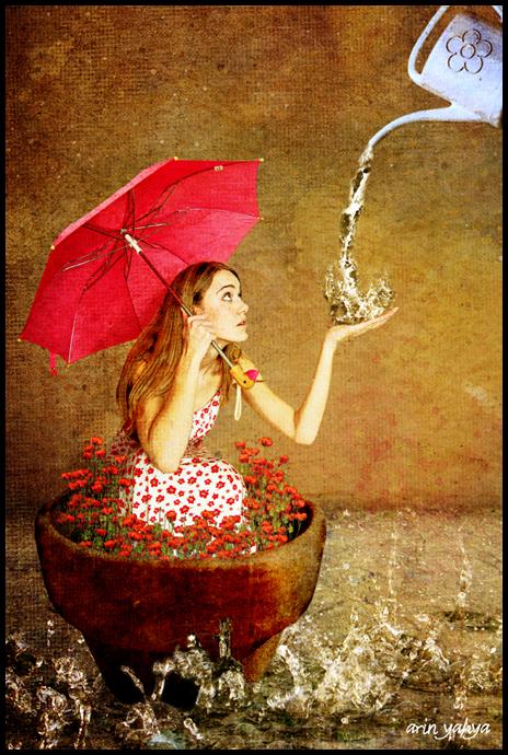 This Pouring Rain.. by hikaridrops