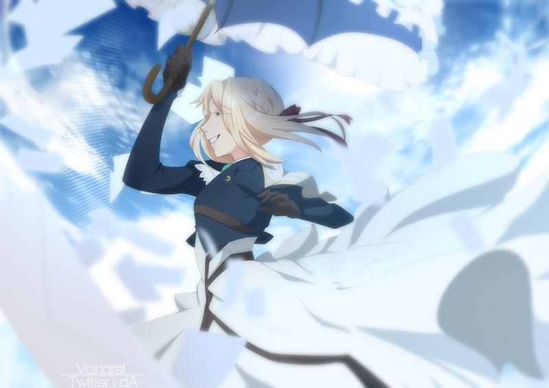 [P] - Violet Evergarden by Valria-rei