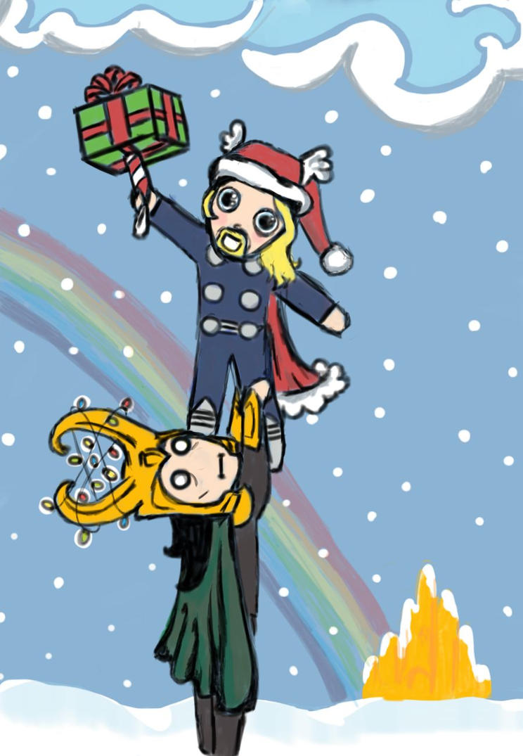 Thor and Loki: A Very Asgard Christmas by DaleksinWonderland