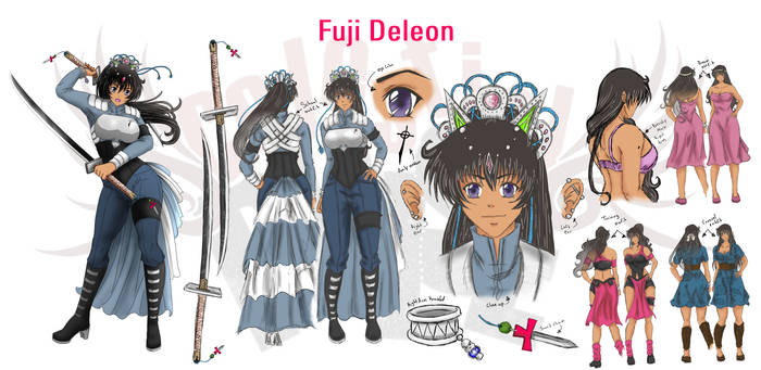 Fuji Deleon Reference Sheet (Celestial Pulse)