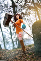 The Seven Deadly Sins: Diane IV by hibiscus-sama