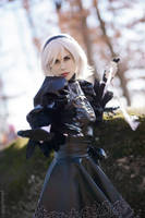 NieR: Automata - 2B Cosplay by hibiscus-sama