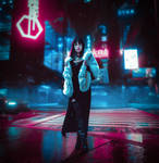 Cyberpunk 2077 Cosplay: Walk Tall in the Night by KatinkaCosplay