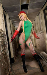 Cammy White: Street Fighter Cosplay  by KatinkaCosplay