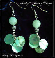 Amazonite Dangles by stecky