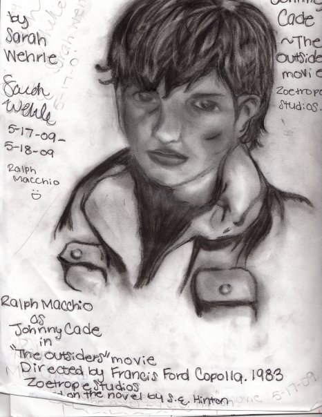 Johnny From The Outsiders Drawing