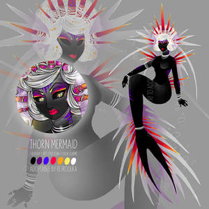 ADOPT: OPEN // Thorn Mermaid / YouTube Toyhouse