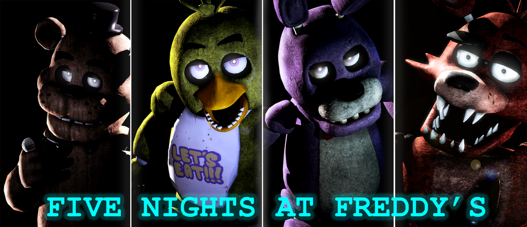 Five nights at freddy s wallpaper by shadowninja97 by