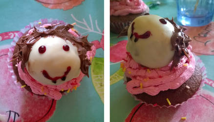 Vampire Cupcake