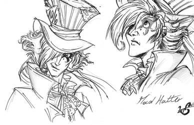 Mad Hatter -  study 1 by giulal
