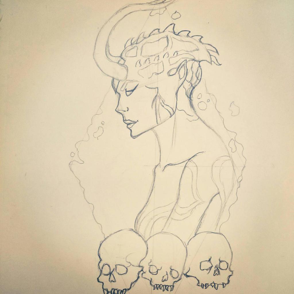 demones tattoo design by dante mairena on deviantart. Black Bedroom Furniture Sets. Home Design Ideas