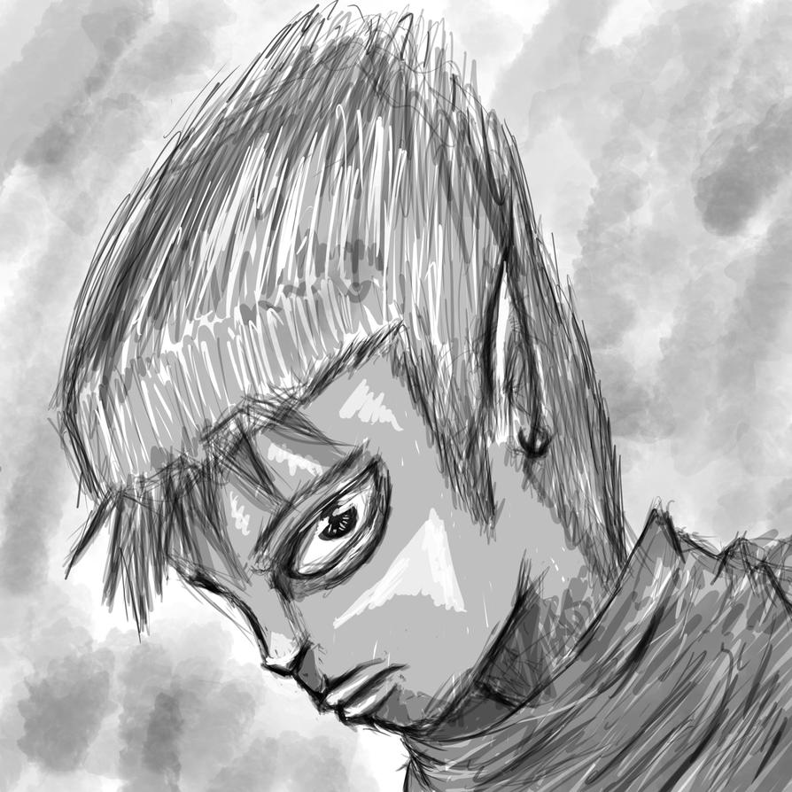 1 Hour Sketch by desertpunk12