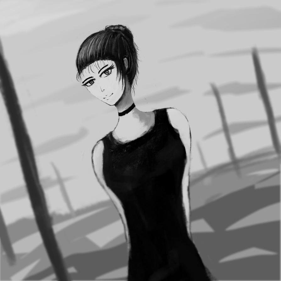 A girl stuck on my mind by desertpunk12