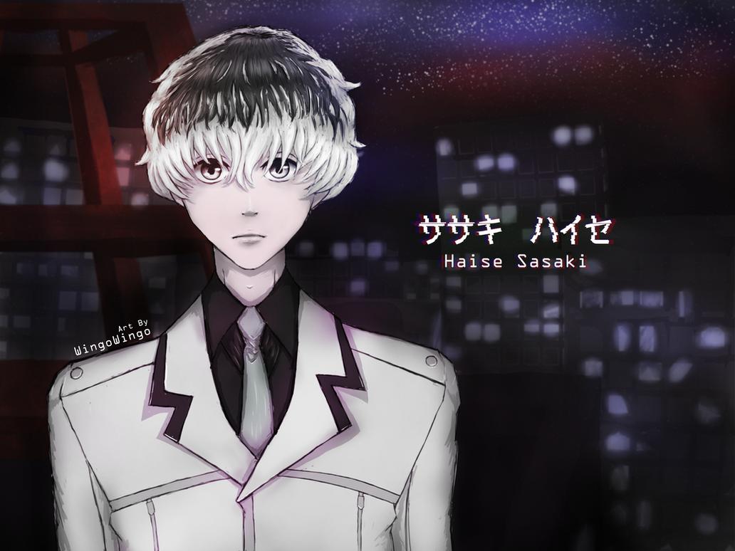 Haise Sasaki Fanart by desertpunk12