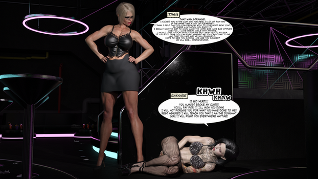 Raynare VS Tina Girl Fight Ryona SEASON 4 PAGE 16