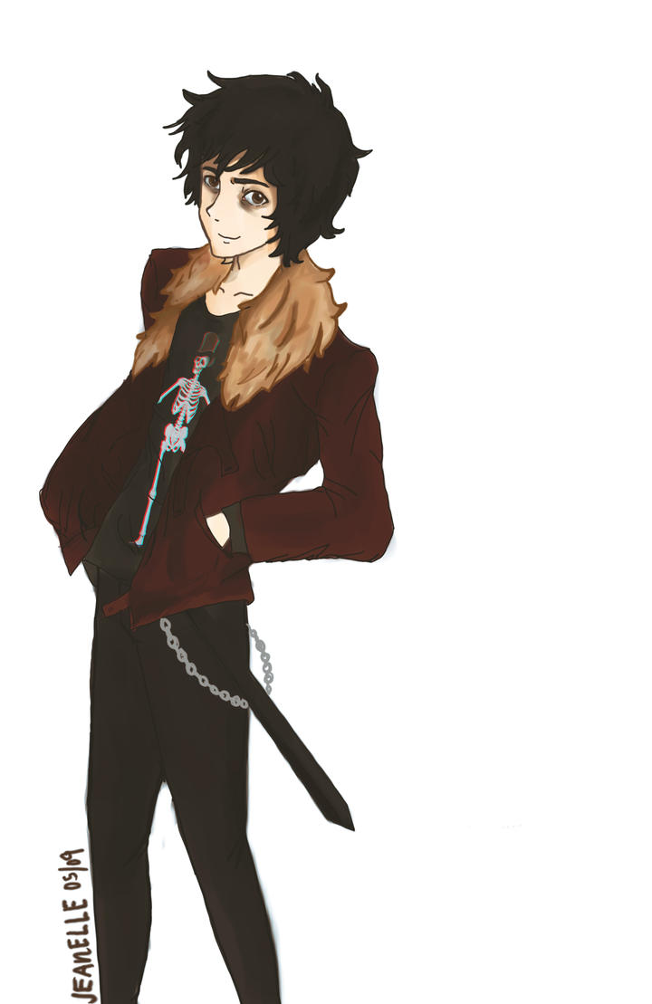 Nico Di Angelo by zjeanelle on DeviantArt