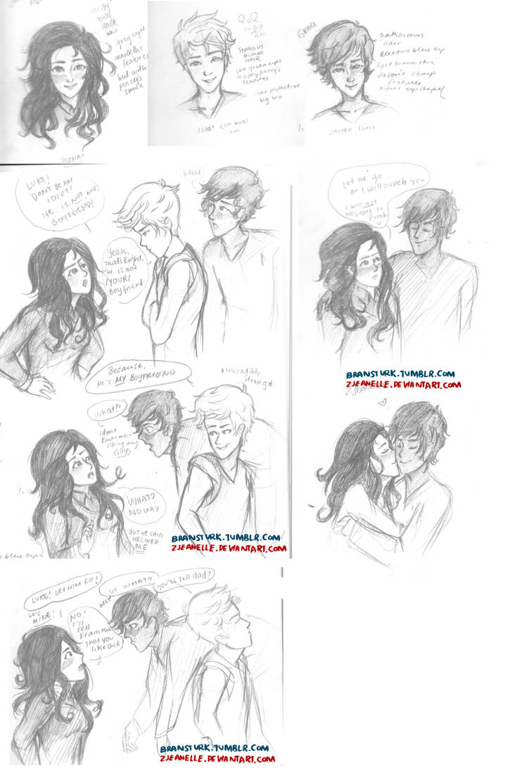 Percy and Annabeth's Children by zjeanelle on DeviantArt