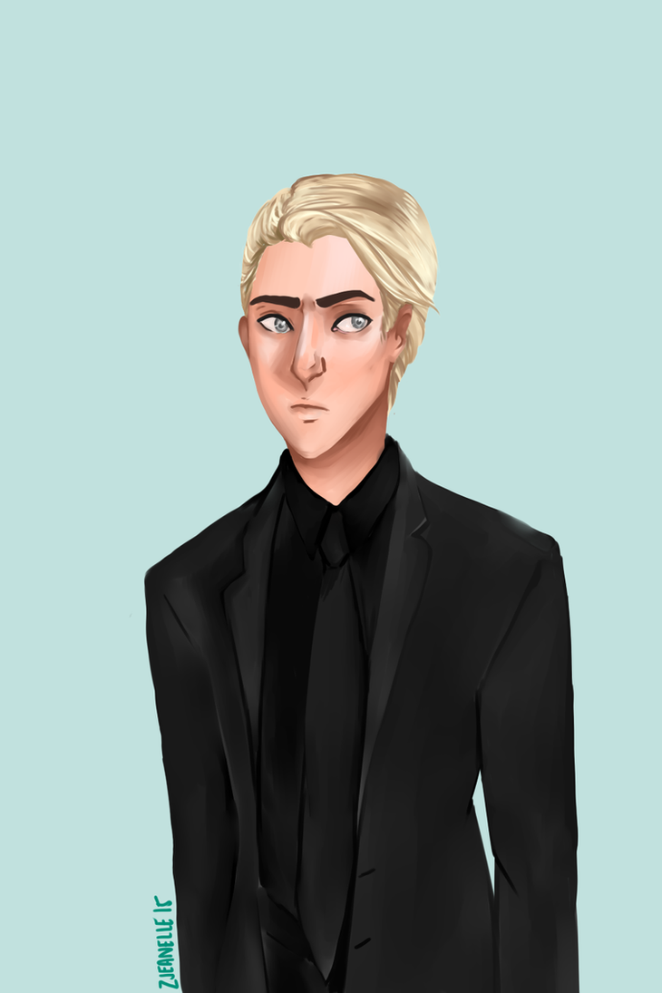 Draco Malfoy by zjeanelle