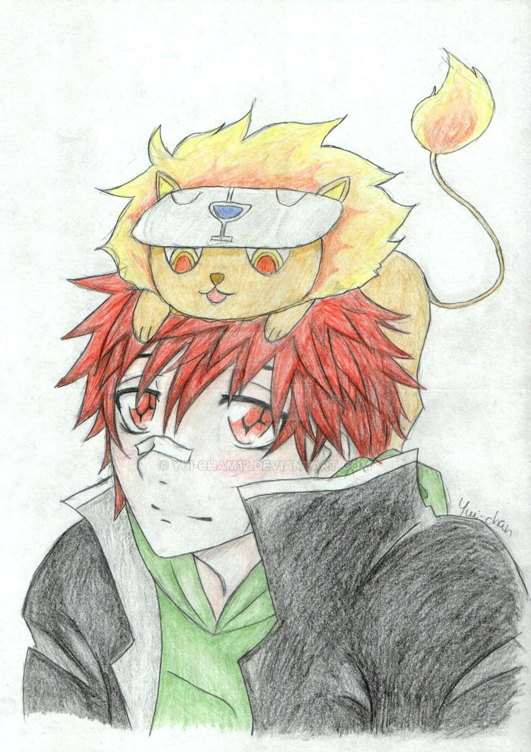 Enma with Nattsu by Yui-cham12