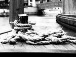 Rope On A Boat- B and W