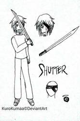 Shutter - Creepypasta OC by KuroKumaa