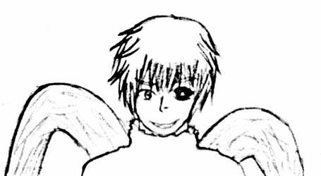 Kaneki Ken [Sketch] by KuroKumaa