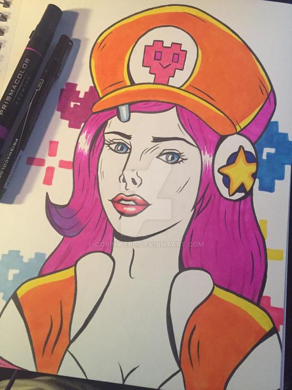 Arcade Miss Fortune by corinwebb