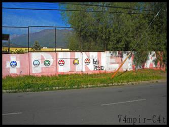 Pinera + Hongos by V4mpir-C4t