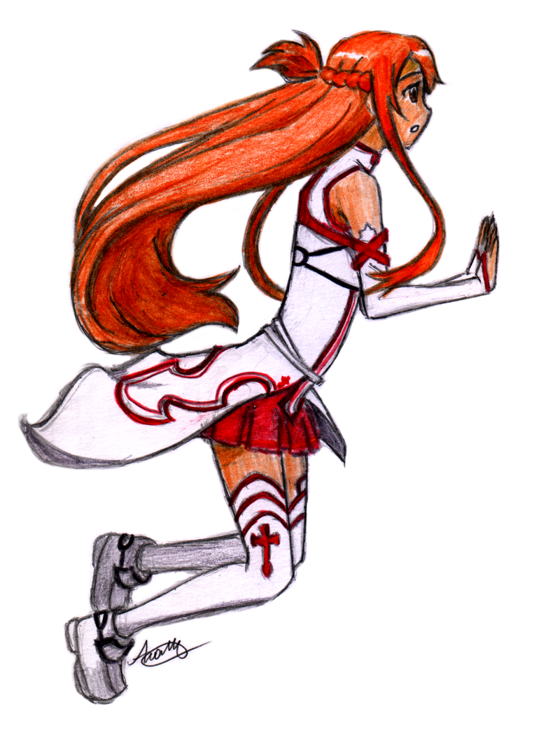 Sword Art Online - Asuna by Cosmic-Void