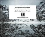 $1 Dollar Lightroom Preset | Gritty Contrast