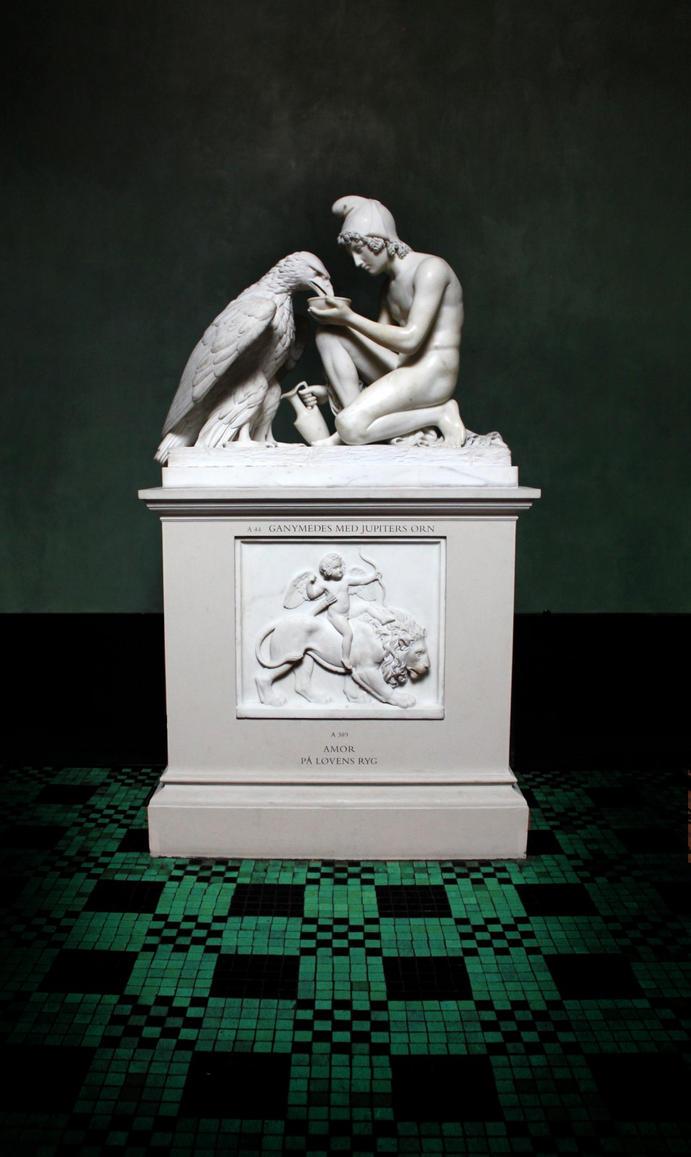 Ganymede and Jupiter   Bertel Thorvaldsen (1770-1844