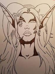 Demon Elf by ShamanatDawn