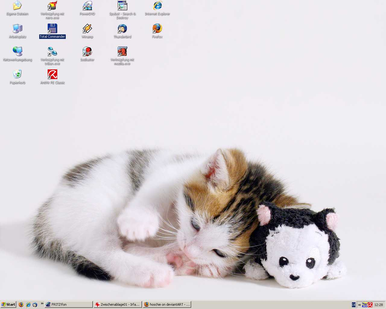 My desktop winter 2007