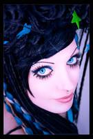 beauty in blue by hoschie