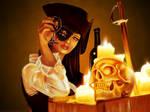 Pirat digital painting