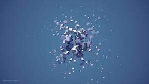 3D sphere cube
