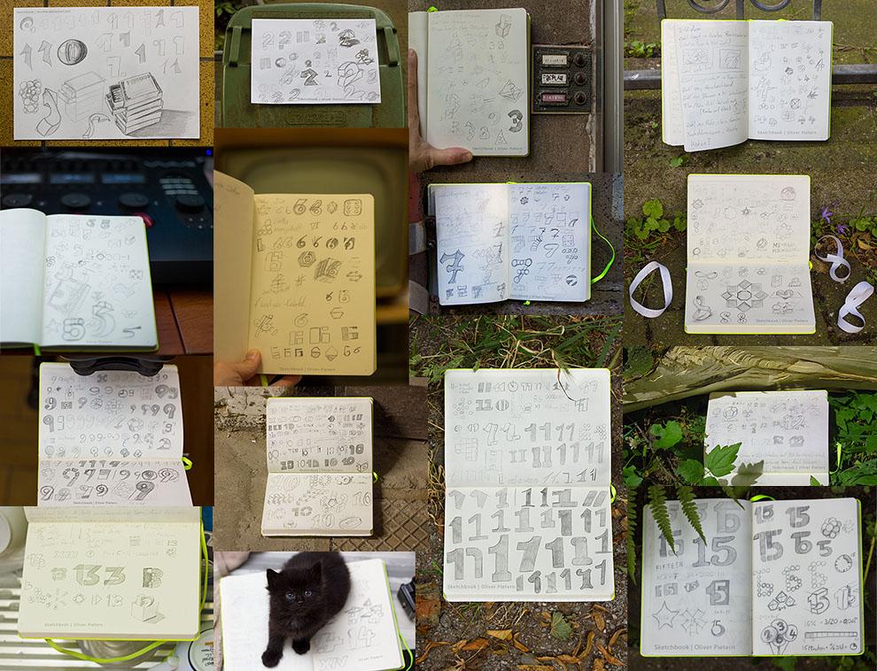 Sketchbook 1-15 by hoschie
