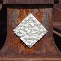 Monochromeandminimal Urban Art Installation by hoschie