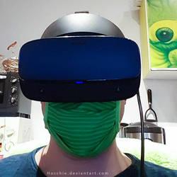 Hoschie in HomeOffice - Safety in VR 2020